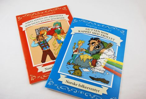 Fairytale Colouring Books