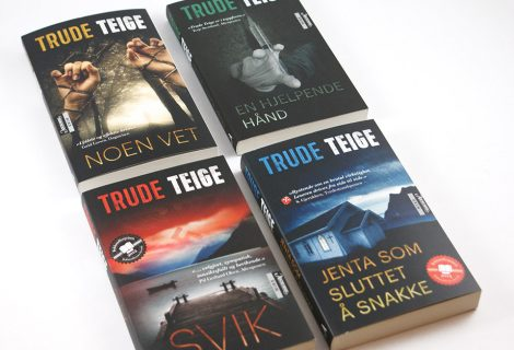 Trude Teige Crime Novels