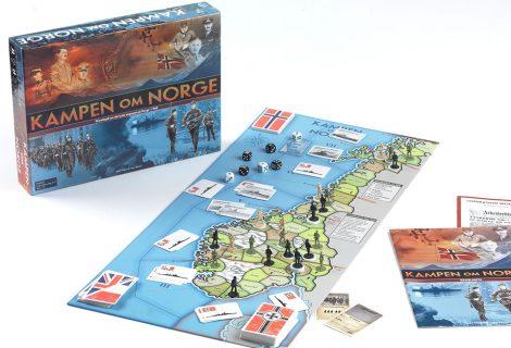 Kampen om Norge board game