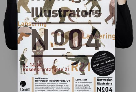 Norwegian Illustrators no. 04 Poster