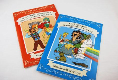 Fairytale Colouring Books